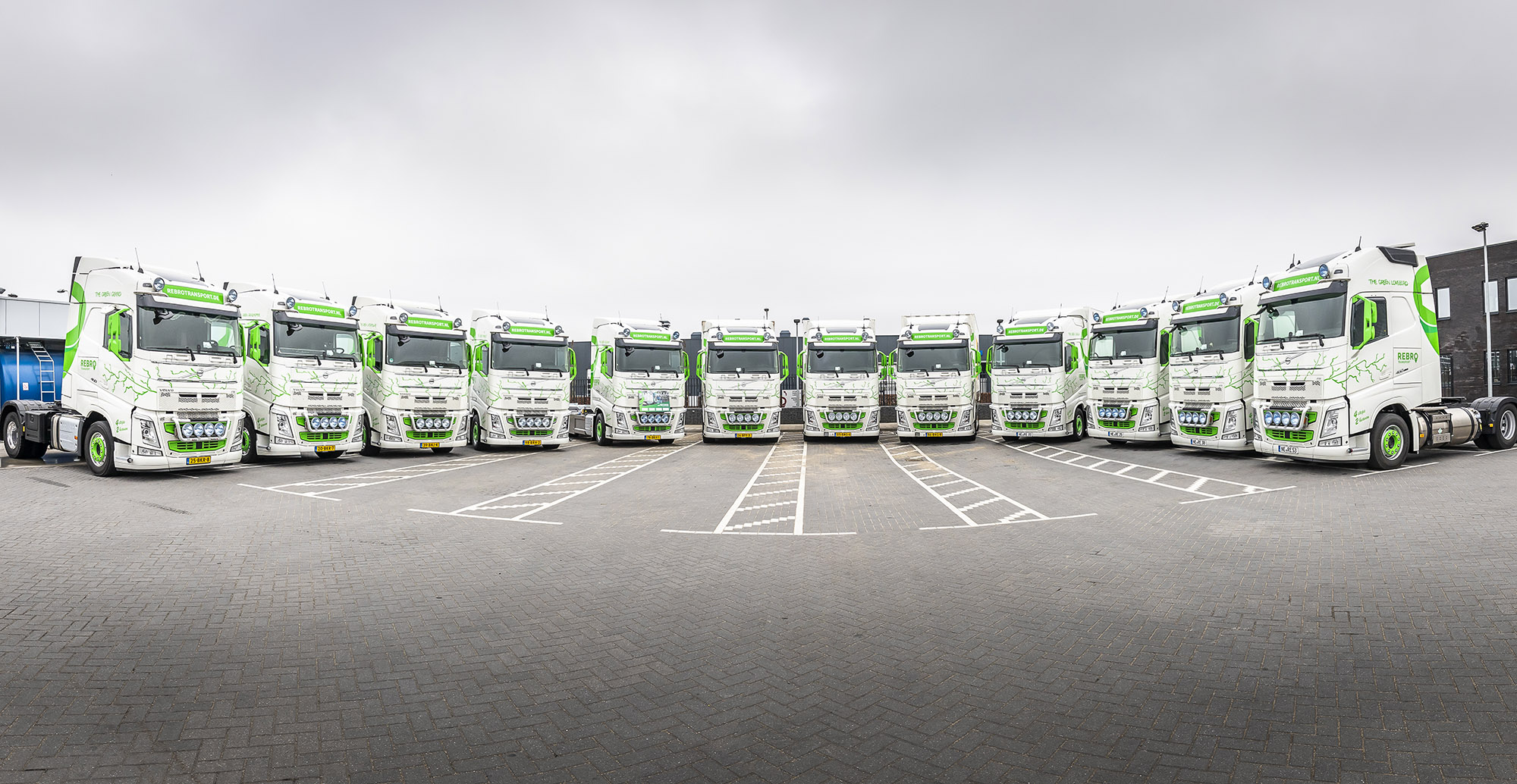 Rebro Transport: Pionier met Volvo LNG en Electric trucks