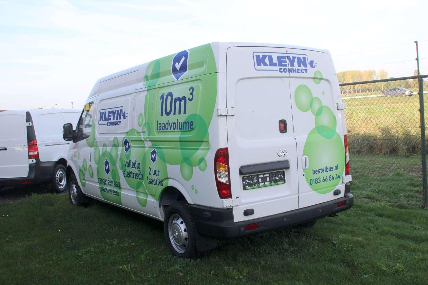 Rotterdam Subsidieert Elektrische Bestelauto Transport Milieu