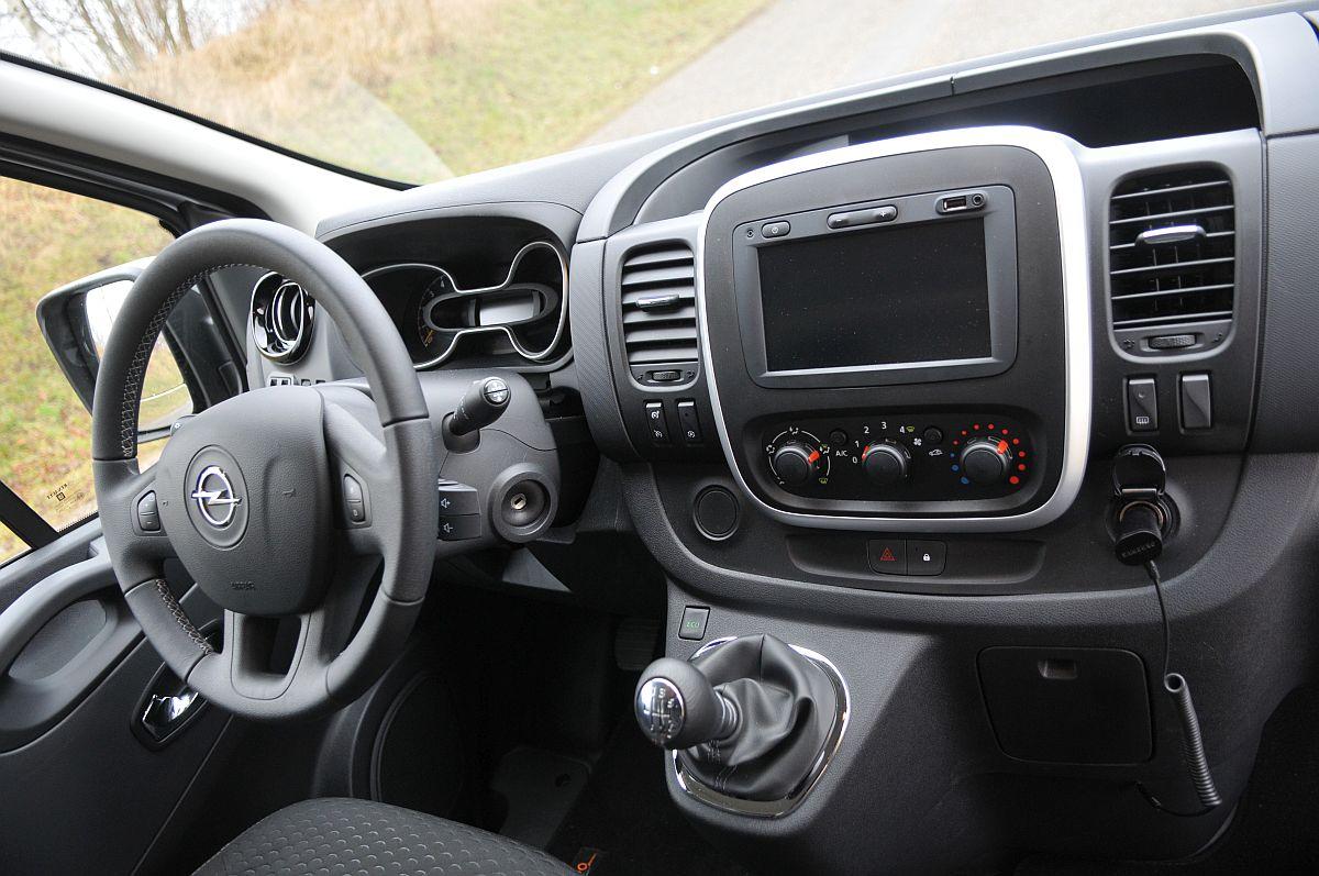 Opel vivaro n t een tikje meer luxe transport milieu for Interieur opel vivaro