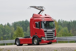 15 Scania trucks voor e-Highways