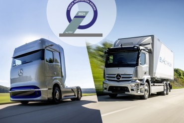 Truck Innovation Award 2021 voor Mercedes-Benz Trucks
