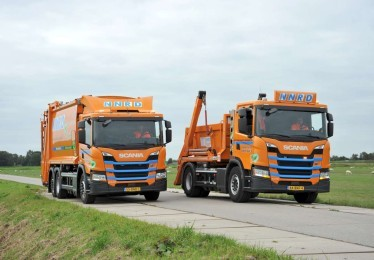 NNRD zet Scania CNG trucks in