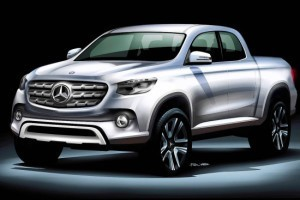 Mercedes ontwikkelt middenformaat pick-up