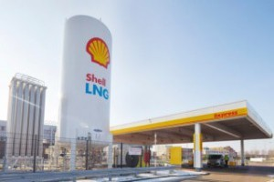 Shell LNG-station Waalhaven open