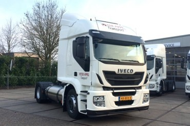Iveco's Stralis LNG Euro 6