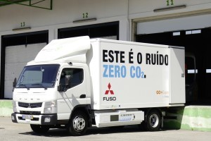 Roadshow emissievrije Fuso E-Cell Canter