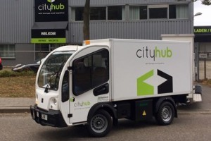 CB met City Hub in groen stadstransport