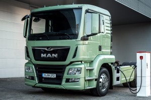 MAN start test e-truck in Wenen