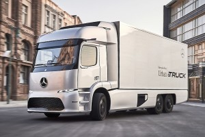 Meer details over Mercedes Electric Truck
