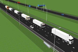Multimerk platooning in 'Ensemble' project