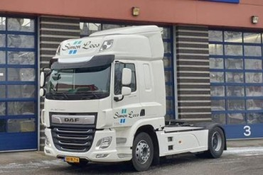 DAF CF Electric voor Simon Loos