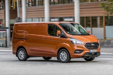 Milieuzones geen barrière voor hybride Ford Transit