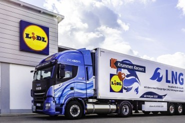 Lidl zet in Duitsland 100 LNG trucks in