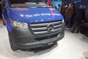 Mercedes start productie E-Sprinter