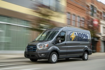Ford e-Transit komt in 2022