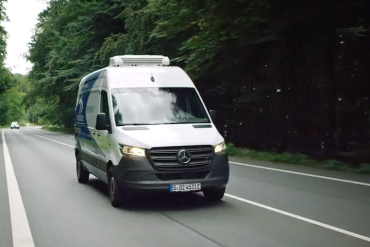 Elektrische Thermo King koeling op Mercedes eSprinter